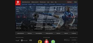 strona internetowa bukmachera Milenium